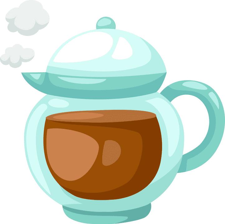 Teapot clipart free 3