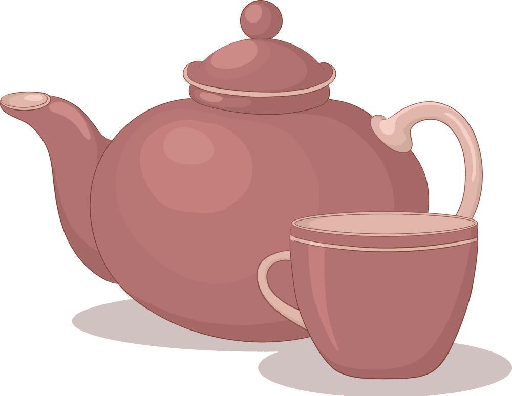 Teapot clipart free 5