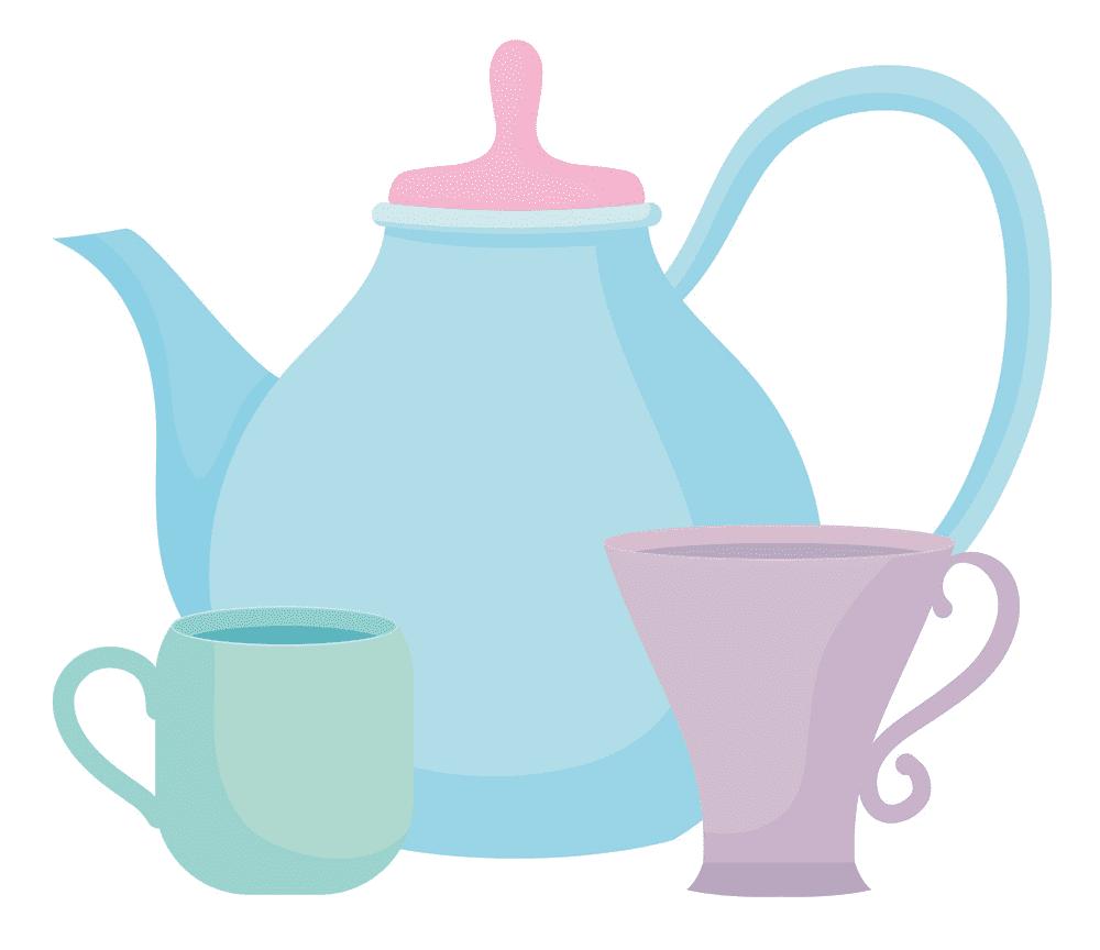 Teapot clipart free 6