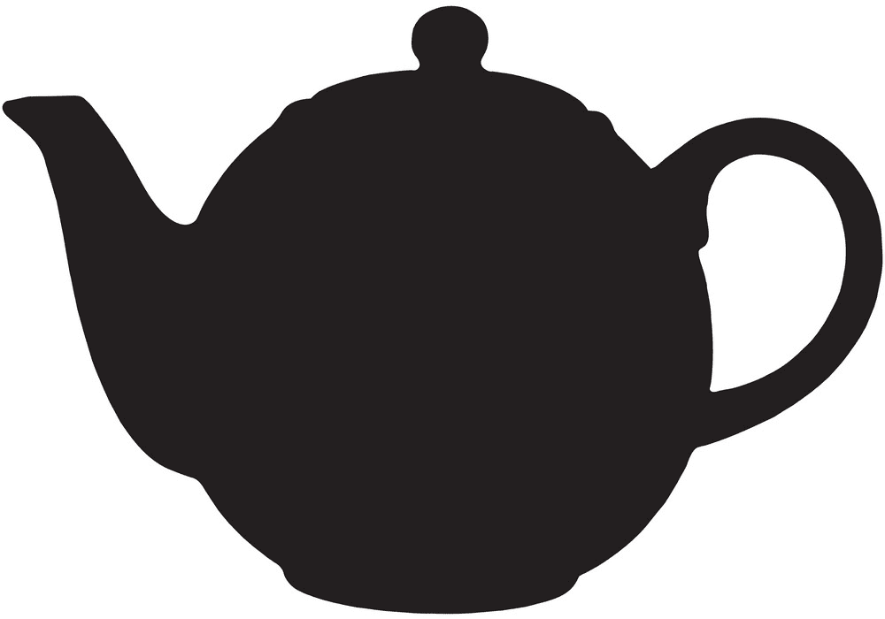 Teapot clipart free 8