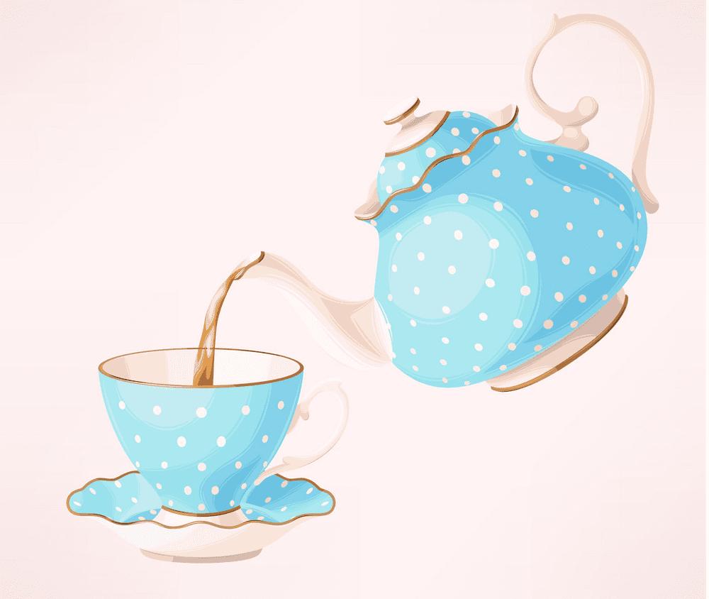 Teapot clipart free 9