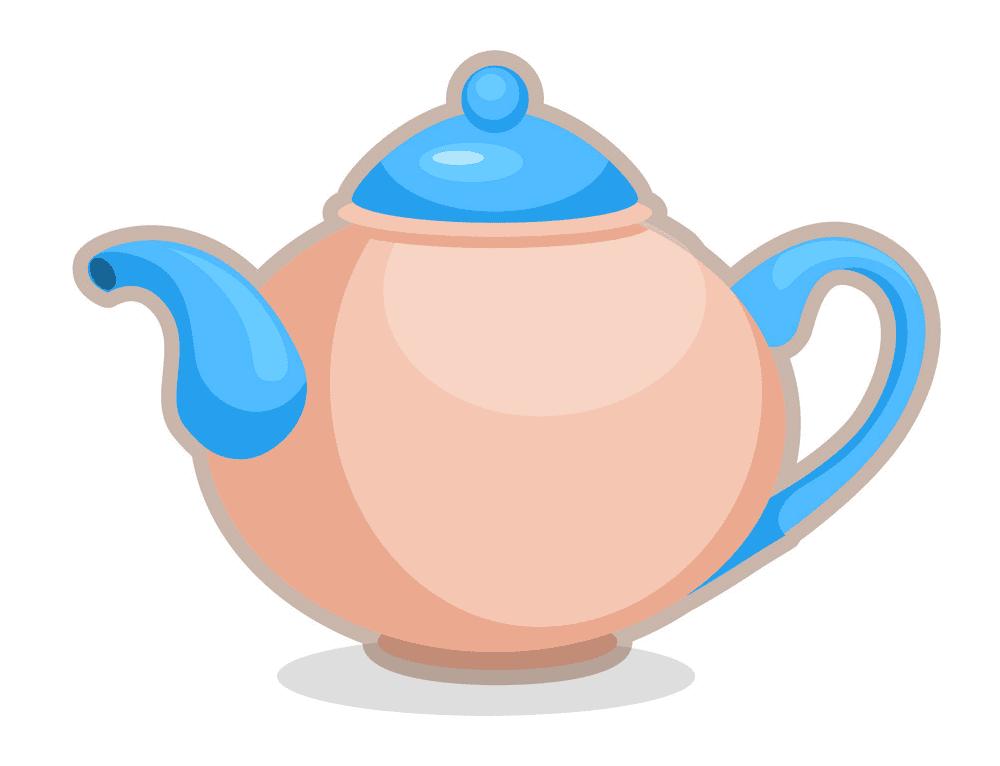 Teapot clipart free image