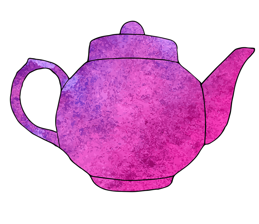 Teapot clipart png 11