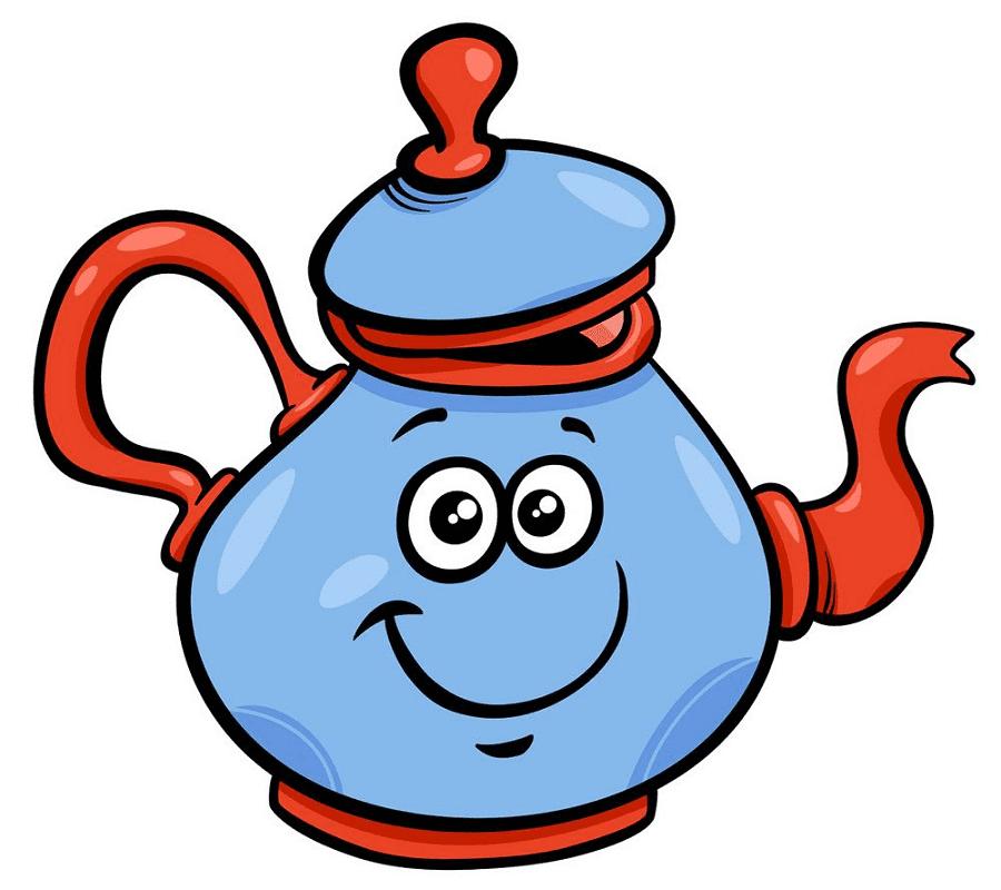 Teapot clipart png 12