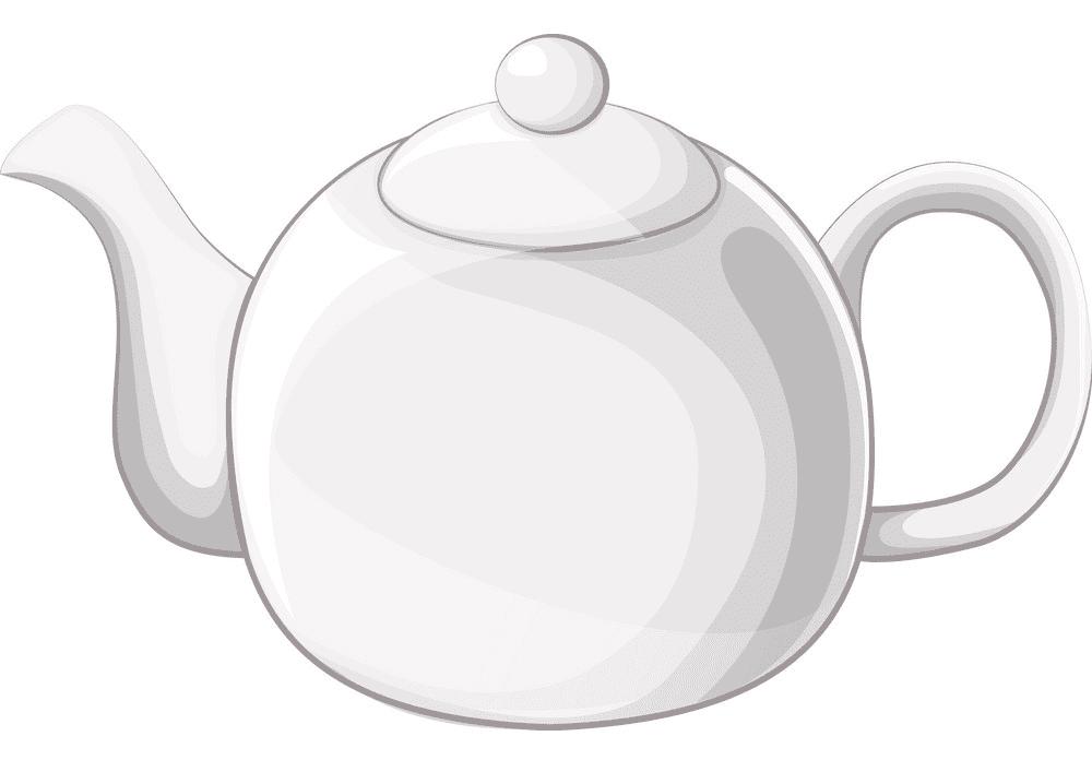 Teapot clipart png 6