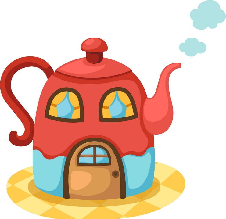 Teapot clipart png 8