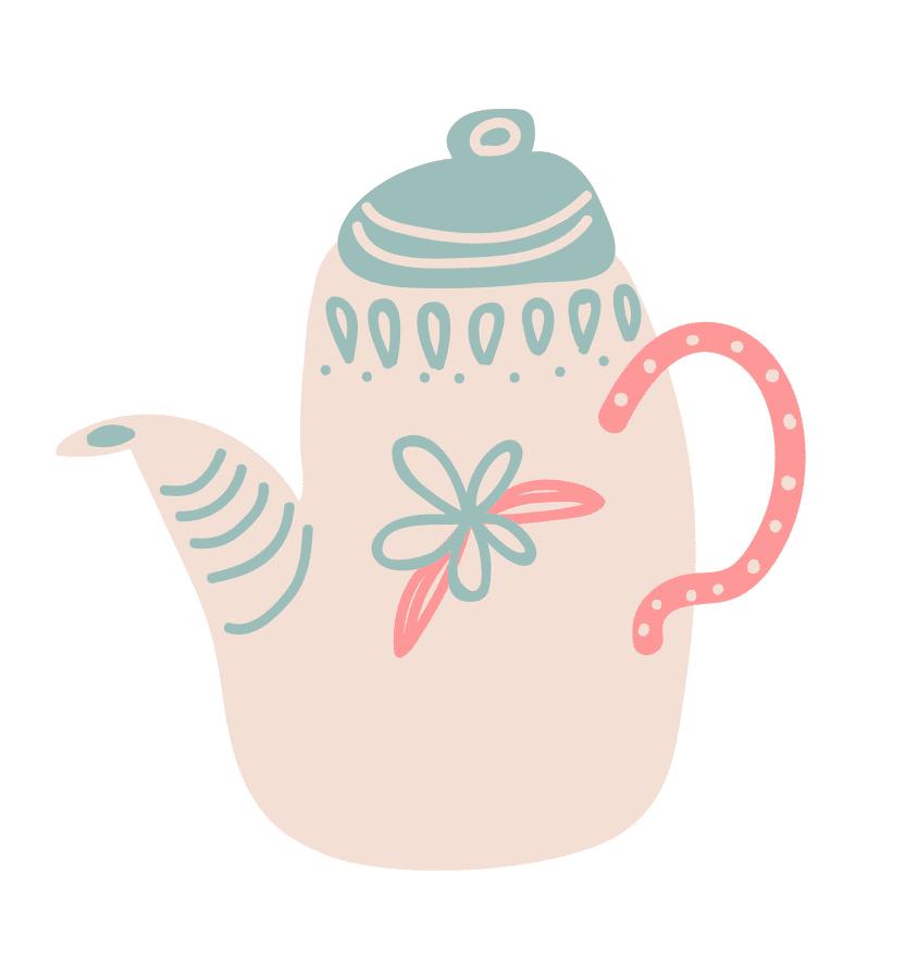 Teapot clipart png 9