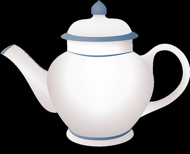 Teapot clipart transparent 1