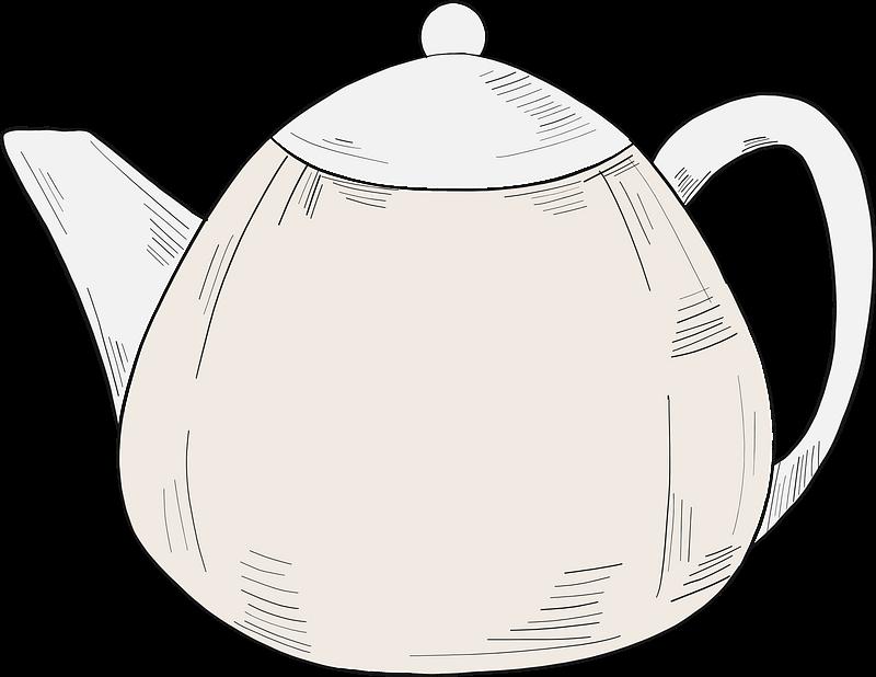 Teapot clipart transparent 10