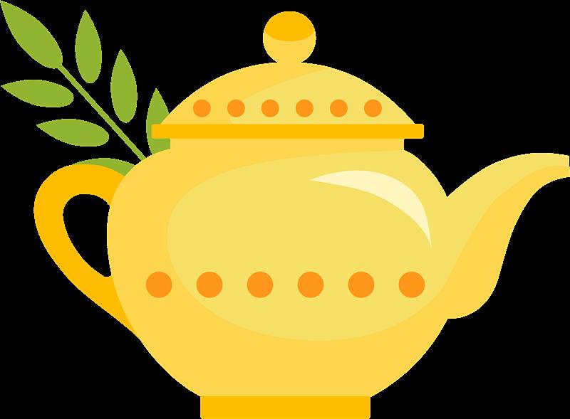 Teapot clipart transparent 12