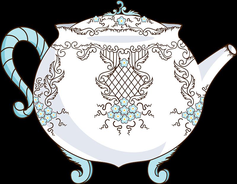 Teapot clipart transparent 16