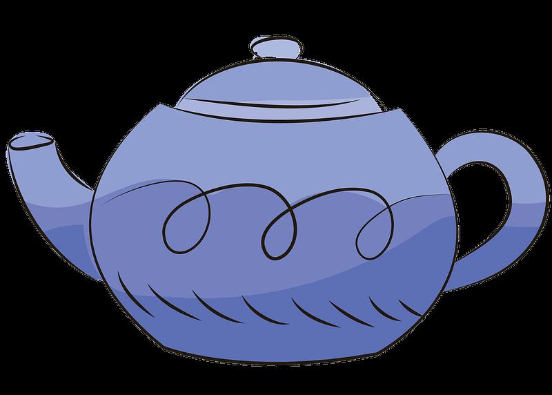 Teapot clipart transparent 3
