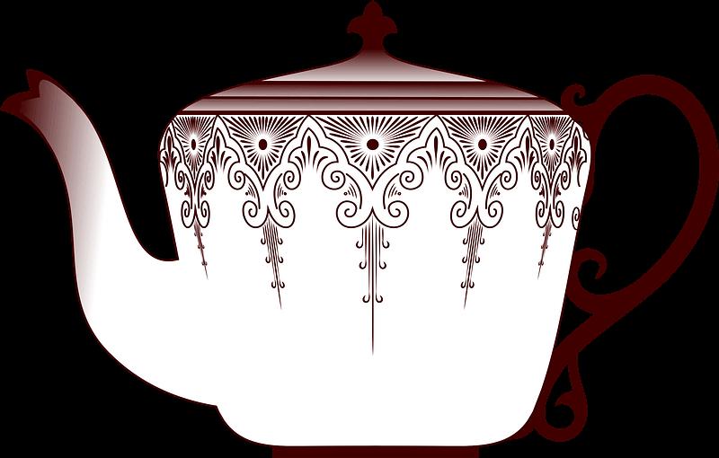 Teapot clipart transparent 4