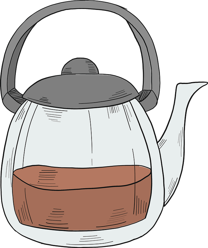 Teapot clipart transparent 8
