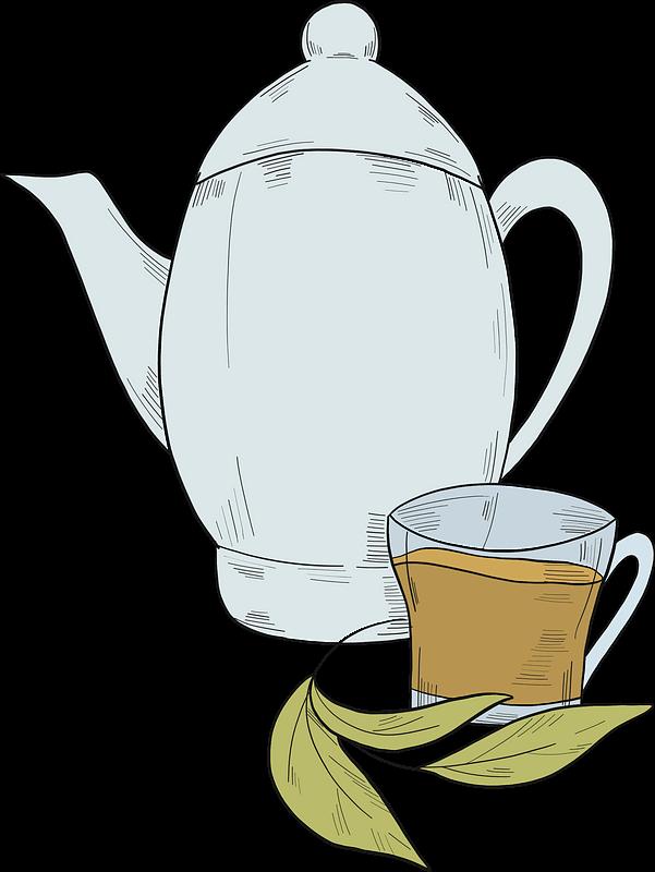 Teapot clipart transparent 9