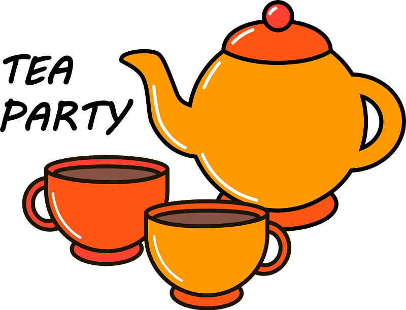 Teapot clipart transparent background 10
