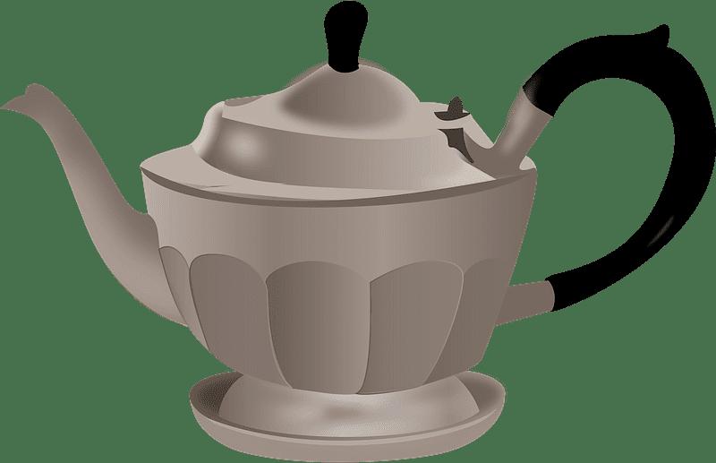 Teapot clipart transparent background 11