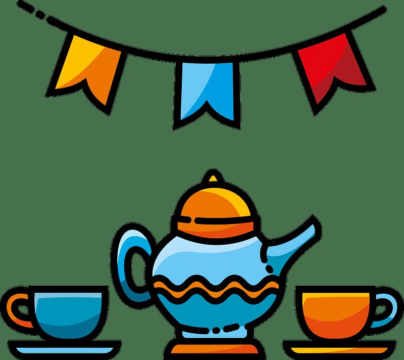 Teapot clipart transparent background 12