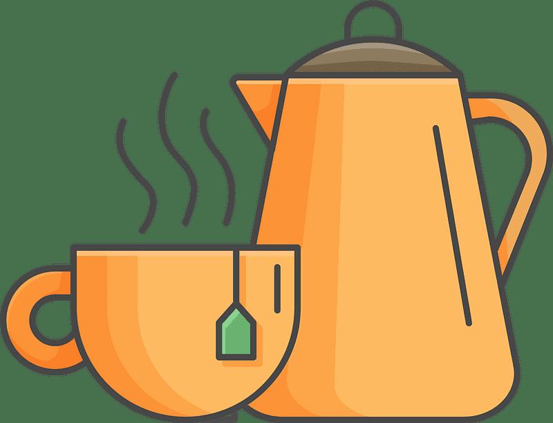 Teapot clipart transparent background 14