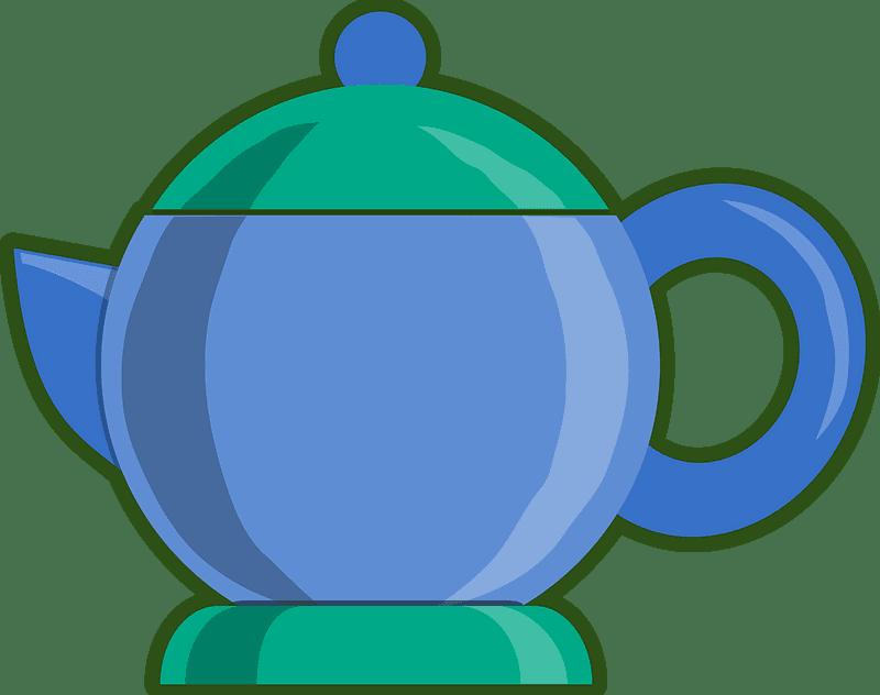 Teapot clipart transparent background 16