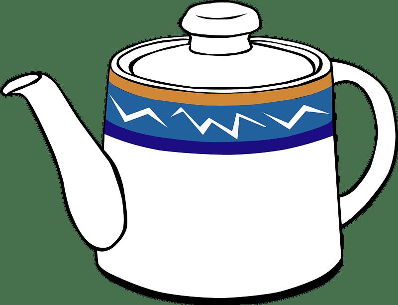 Teapot clipart transparent background 4