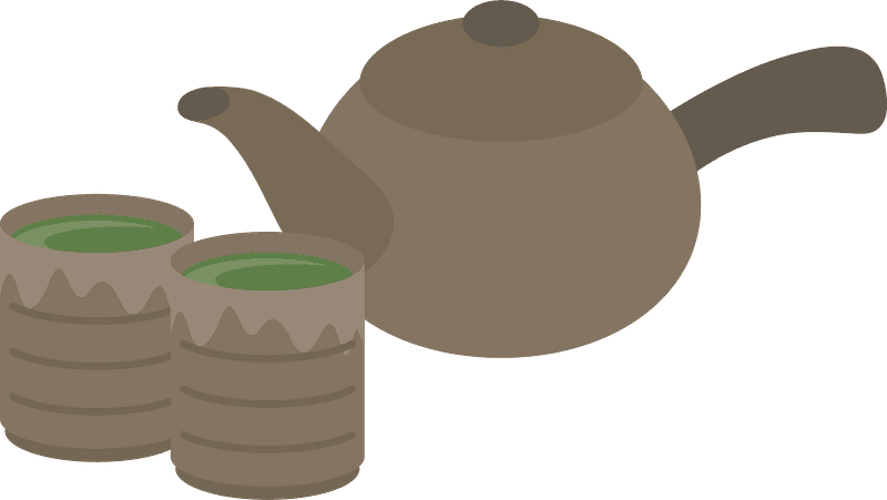 Teapot clipart transparent background 6