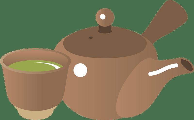 Teapot clipart transparent background 7