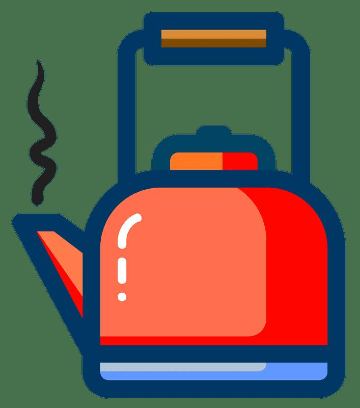 Teapot clipart transparent background 8