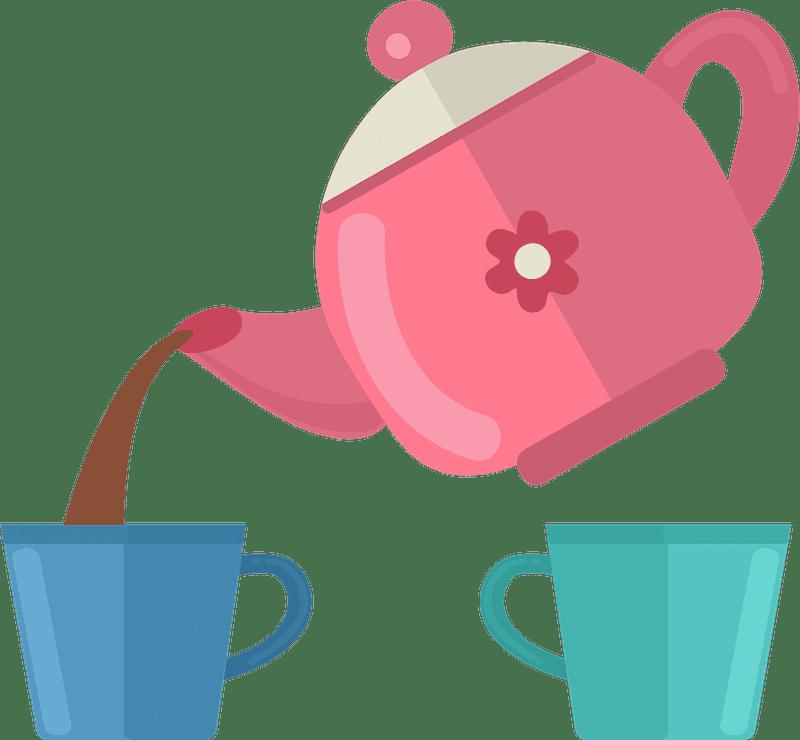 Teapot clipart transparent background 9
