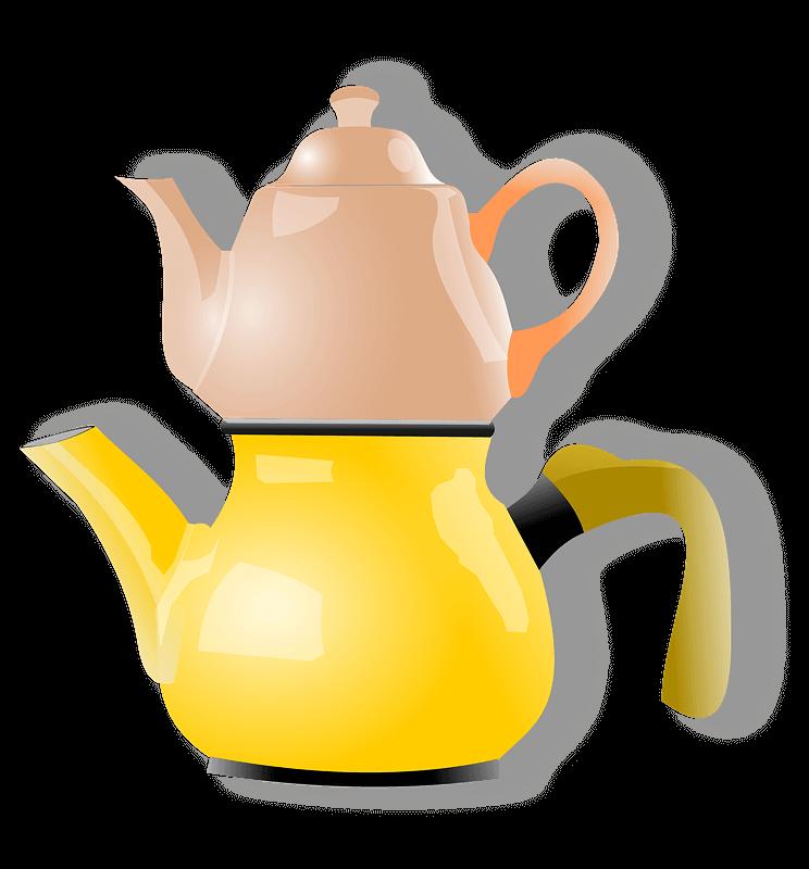 Teapot clipart transparent
