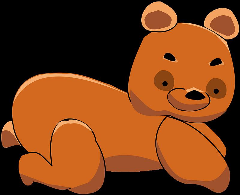 Teddy Bear Clipart transparent 1