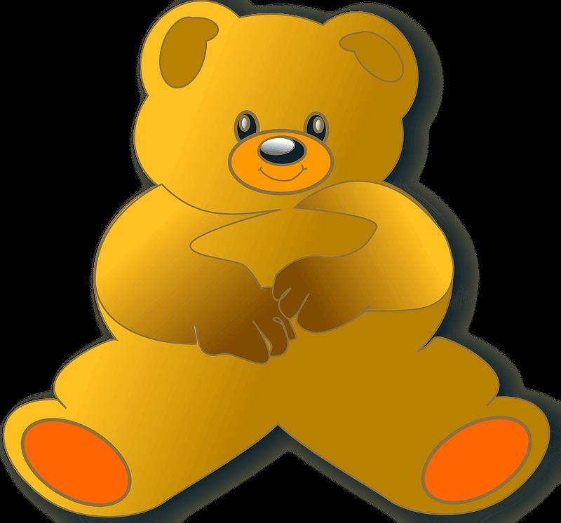 Teddy Bear Clipart transparent 12