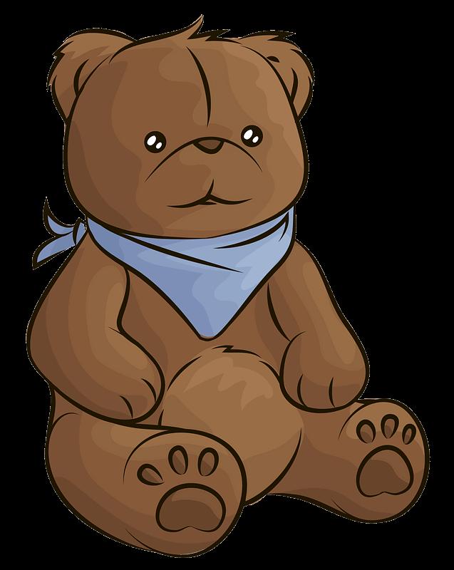 Teddy Bear Clipart transparent 2