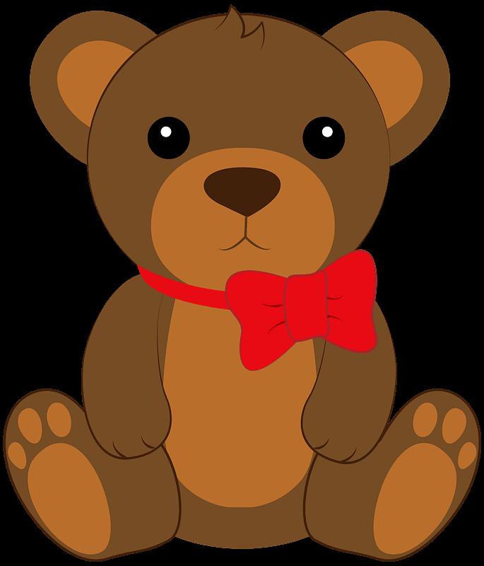 Teddy Bear Clipart transparent 3