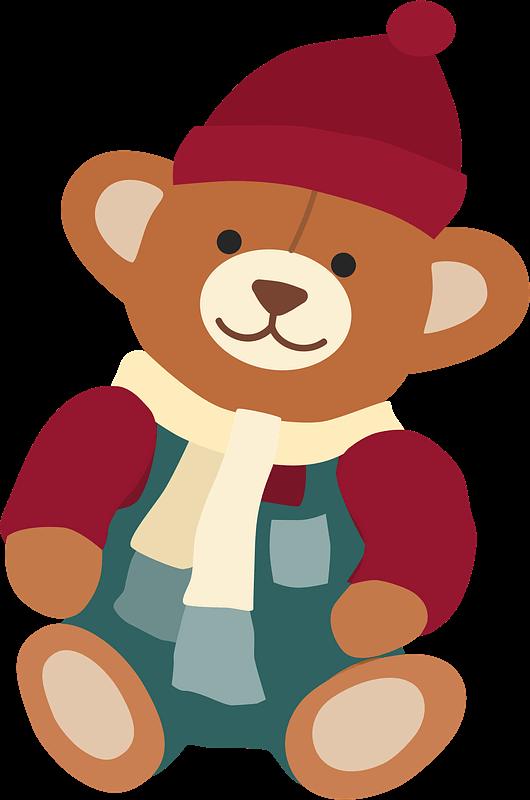 Teddy Bear Clipart transparent 5