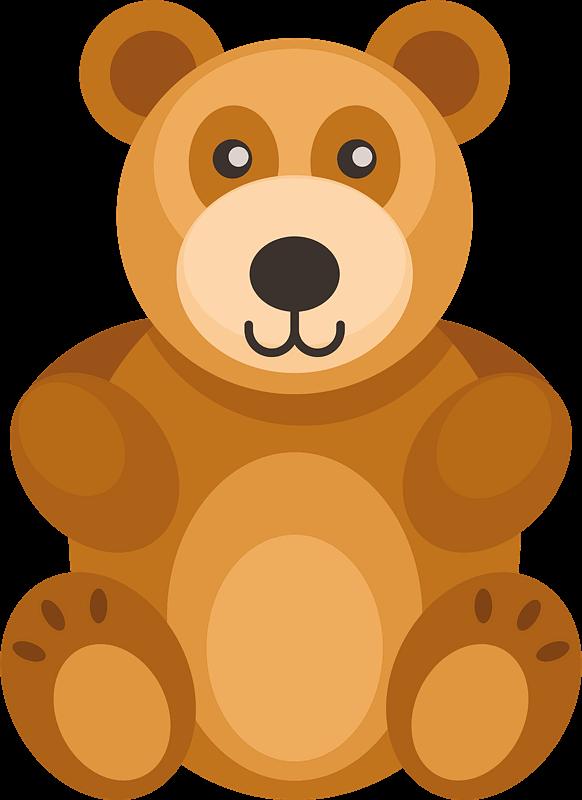 Teddy Bear Clipart transparent 6