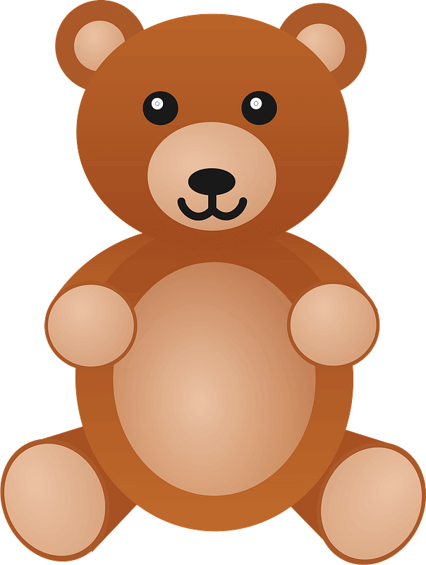 Teddy Bear Clipart transparent 8