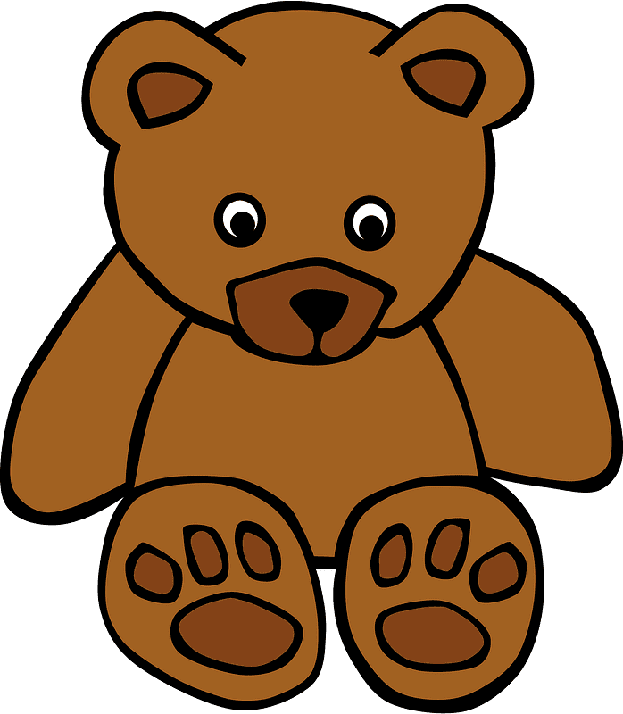 Teddy Bear Clipart transparent background 1