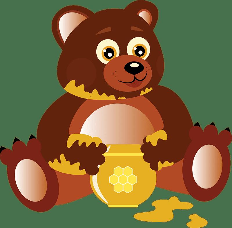 Teddy Bear Clipart transparent background 10