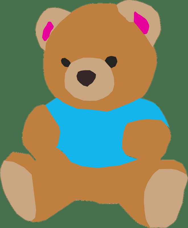 Teddy Bear Clipart transparent background 11