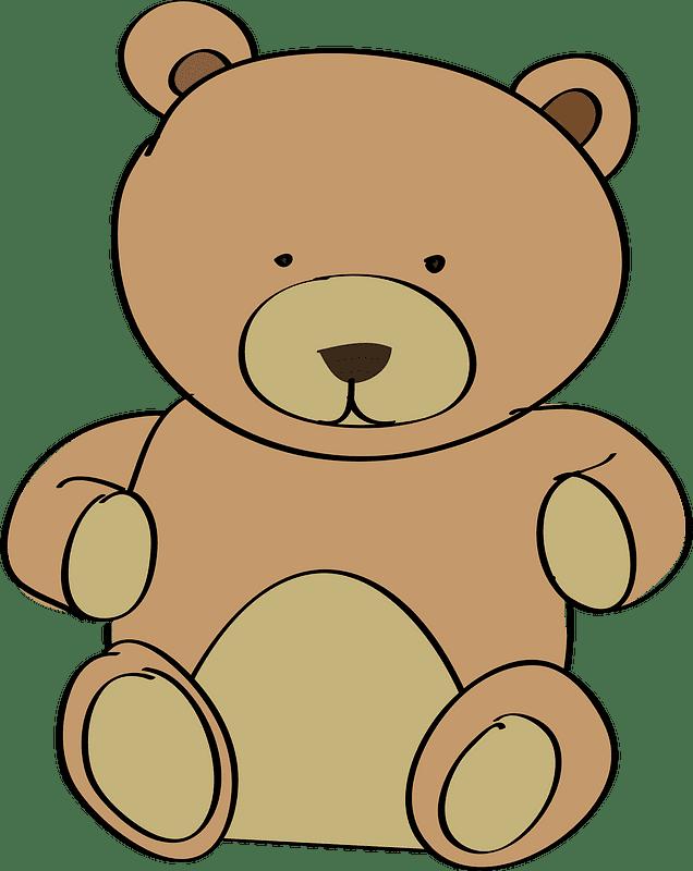 Teddy Bear Clipart transparent background 12