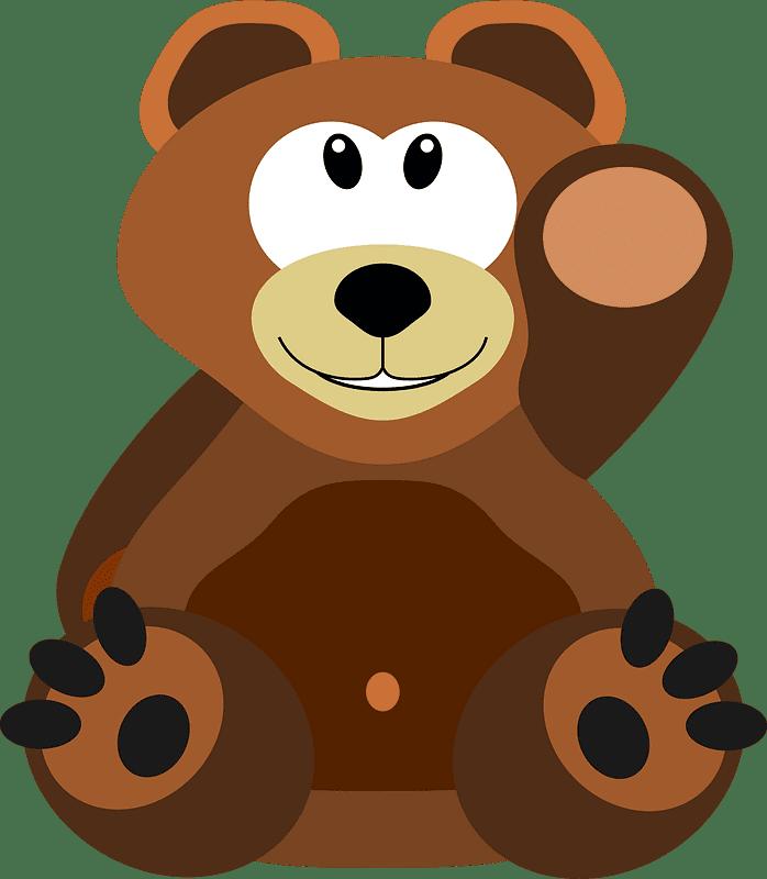 Teddy Bear Clipart transparent background 13