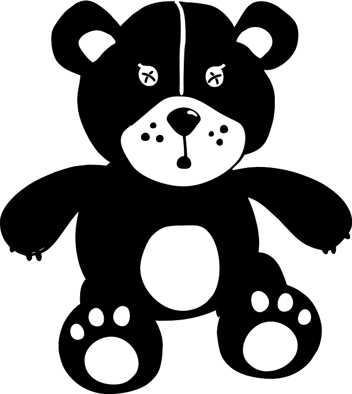 Teddy Bear Clipart transparent background 14