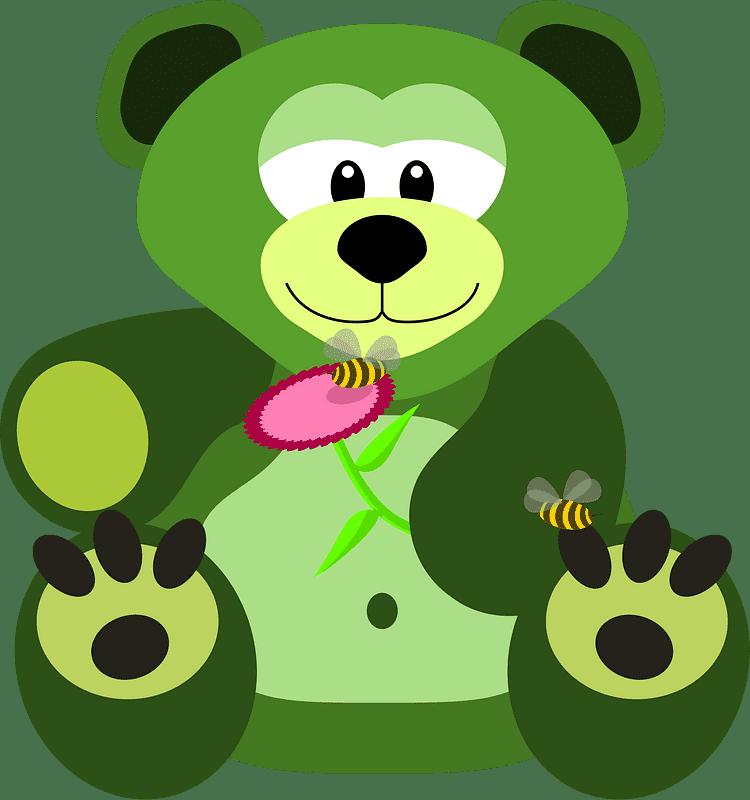 Teddy Bear Clipart transparent background 15