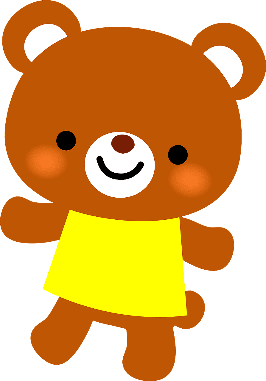 Teddy Bear Clipart transparent background 2