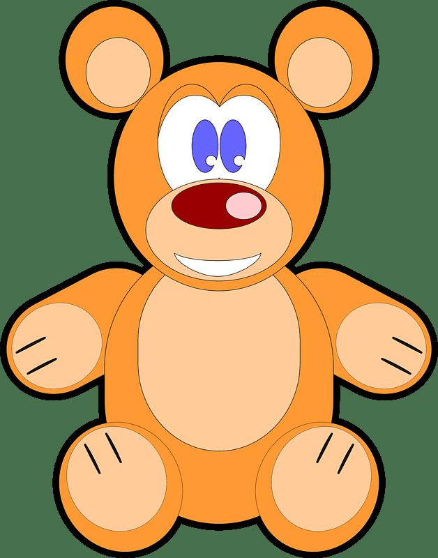 Teddy Bear Clipart transparent background 3