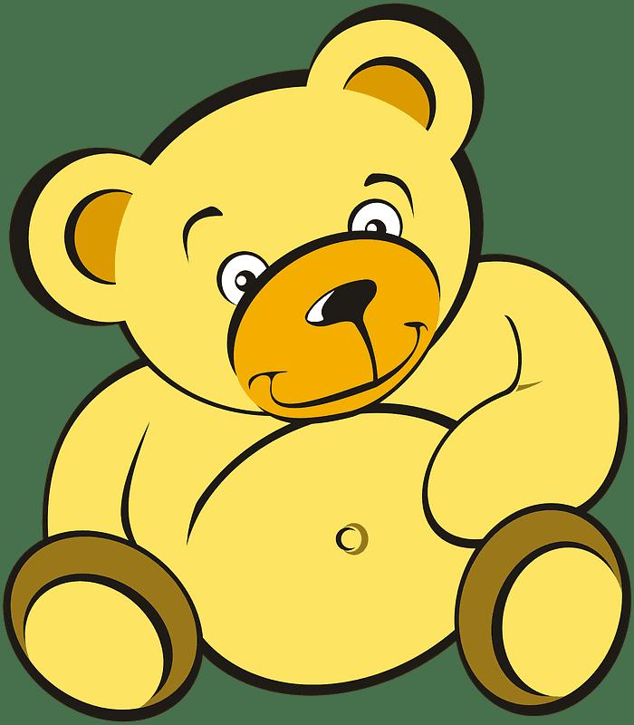 Teddy Bear Clipart transparent background 4