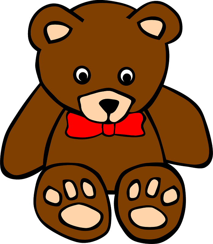 Teddy Bear Clipart transparent background 7