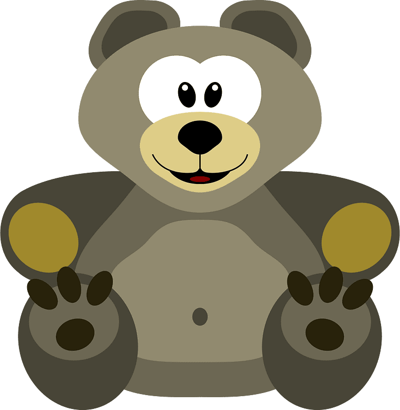 Teddy Bear Clipart transparent background 8