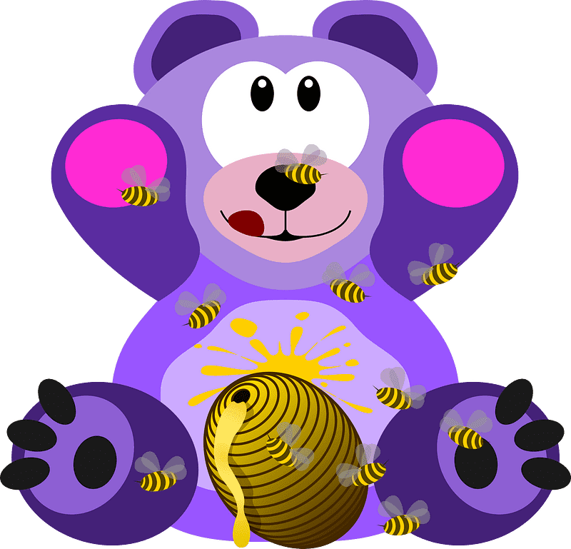 Teddy Bear Clipart transparent background 9